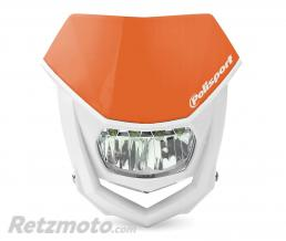 POLISPORT Plaque phare POLISPORT Halo LED orange/blanc