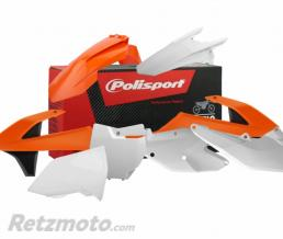 POLISPORT Kit plastique POLISPORT couleur origine (2016) orange/blanc/noir KTM