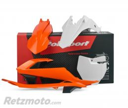 POLISPORT Kit plastique POLISPORT couleur origine (2016) orange/noir/blanc KTM 65 SX