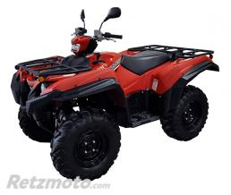 DIRECTION 2 Kit d'extension d'ailes DIRECTION 2 noir Yamaha Grizzly 2016 et +