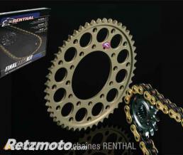 RENTHAL Kit chaîne HUSQVARNA FE 450/KTM 250EXC RENTHAL 520 type R3-3 13/52 (couronne Ultralight anti-boue)