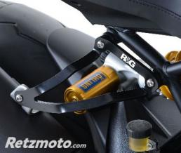 R&G Patte de fixation de silencieux R&G RACING noir Ducati Monster 1200R