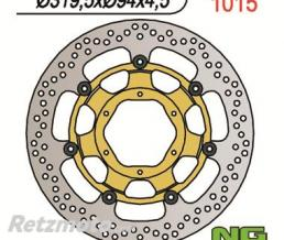 NG Disque de frein NG 1015 rond semi-flottant