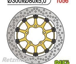 NG Disque de frein NG 1056 rond semi-flottant