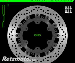 NG Disque de frein NG 1137 rond semi-flottant