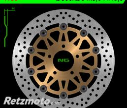 NG Disque de frein NG 1159 rond semi-flottant