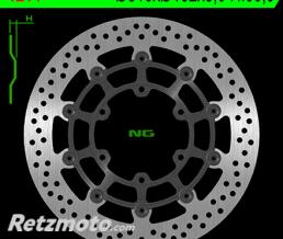 NG Disque de frein NG 1214 rond semi-flottant
