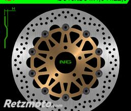 NG Disque de frein NG 124 rond semi-flottant