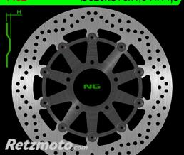 NG Disque de frein NG 1452 rond semi-flottant
