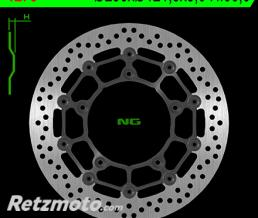 NG Disque de frein NG 1278 rond semi-flottant