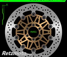 NG Disque de frein NG 1290 rond semi-flottant