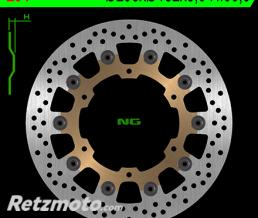 NG Disque de frein NG 294 rond semi-flottant