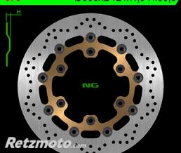 NG Disque de frein NG 673 rond semi-flottant