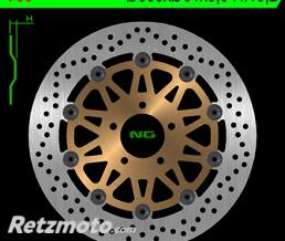NG Disque de frein NG 750 rond semi-flottant