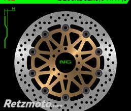 NG Disque de frein NG 752 rond semi-flottant