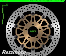 NG Disque de frein NG 776 rond semi-flottant
