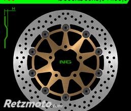 NG Disque de frein NG 790 rond semi-flottant