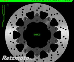 NG Disque de frein NG 725 rond semi-flottant