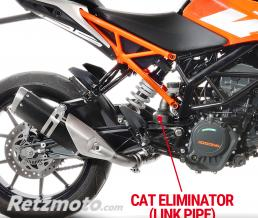 LEOVINCE SBK SUPPRESSION CATALYSEUR KTM DUKE 125 2017 - 2019