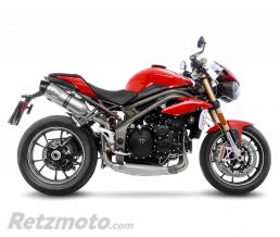 LEOVINCE SBK LV ONE TRIUMPH SPEED TRIPLE '17 INOX