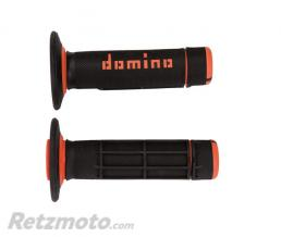 DOMINO Revêtements DOMINO A020 Bicolore MX semi-gaufré noir/orange