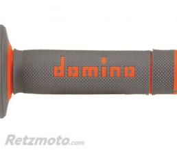 DOMINO Revêtements DOMINO A020 Bicolore MX semi-gaufré gris/orange