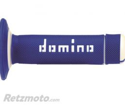DOMINO Revêtements DOMINO A020 Bicolore MX semi-gaufré bleu/blanc