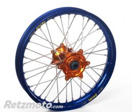 HAAN WHEELS ROUE AVANT HAAN WHEELS 21X1,60X36T JANTE BLEUE / MOYEU ORANGE