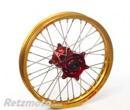HAAN WHEELS ROUE ARRIERE 19X1,85X36T HAAN WHEELS JANTE OR / MOYEU ROUGE