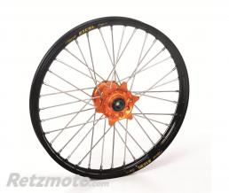 HAAN WHEELS Roue avant HAAN WHEELS 17X3.50X36T jante noire/moyeu orange KTM/HVA