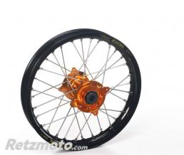HAAN WHEELS Roue avant Haan Wheels 21 X 1,60 X 32T jante noire/moyeu orange KTM FREERIDE E 250/350