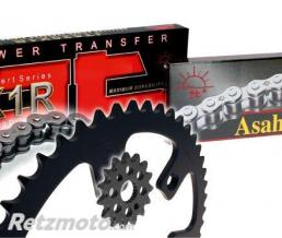 JT SPROCKETS Kit chaîne JT 520 type Ultra-light anti-boue (couronne Ultra-light anti-boue) KTM SX-F250