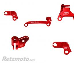 SCAR Guide câble d'embrayage SCAR rouge Honda CRF450R