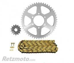 Kit chaine AFAM 428 type R1 (couronne standard) YAMAHA TW125