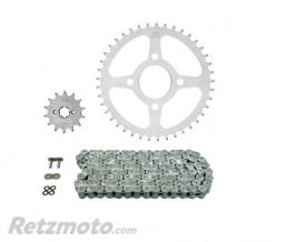 Kit chaine AFAM 520 type XLR2 (couronne standard) HONDA VT125 SHADOW