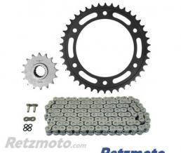 AFAM Kit chaine BMW F800GS AFAM 525 type XRR (couronne standard - fixation Ø10.5)