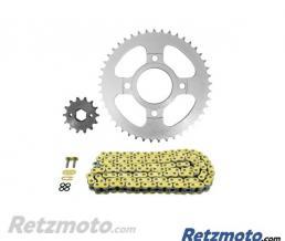 Kit chaine AFAM 428 type XMR (couronne Standard) DAELIM ROADSPORT R 125