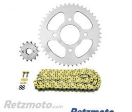 Kit chaine AFAM 428 type XMR (couronne Standard) DAELIM VJ125 ROADWIN