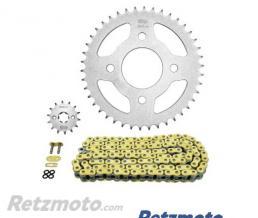 Kit chaine DAELIM VL125 DAYSTAR AFAM 14x42 428 type XMR (couronne Standard)
