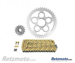 AFAM Kit chaine AFAM 525 type XSR2 (couronne Standard) DUCATI HYPERMOTARD 821