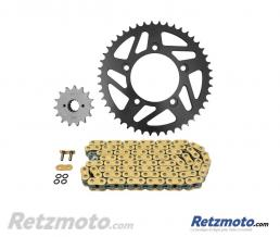 Kit chaine AFAM 520 type XHR2 15/46 (couronne standard) Ducati Monster 821