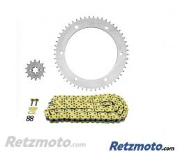 AFAM Kit chaine AFAM 428 type XMR 14/53 (couronne standard) Yamaha WR125X