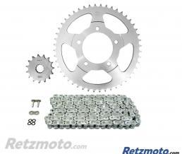 Kit chaine AFAM 525 type XRR 15/48 (couronne standard) Suzuki GSF650N Bandit