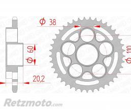 AFAM Couronne AFAM 41 dents acier pas 520 type 50614 Ducati Monster 800 S2R
