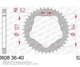AFAM Couronne AFAM 43 dents acier pas 525 type 50608K Ducati 998 Monster S4R