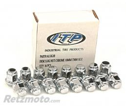 ITP Kit écrou ITP conique chromé 12/17mm 16pcs