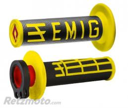 ODI Revètements Lock-On ODI Emig V2 jaune/noir
