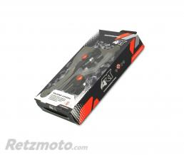 ART Leviers repliables ART noir/vis orange par paire KTM/Husqvarna