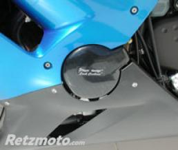 ERMAX PROTECTION DE CARTER ZX-6 R/RR 2005/2006 LOOK CARBONE ARGENT