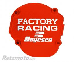 BOYESEN Couvercle de carter d'allumage Boyesen Factory Racing orange KTM SX125/150 Husqvarna TC125